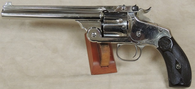 Smith & Wesson Model 3 New Model .38 Caliber Target Revolver S/N